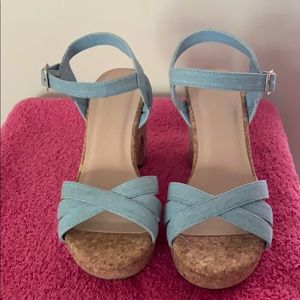 Cute Denim Sandals